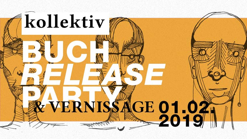 Plakat Release-Party kollektiv